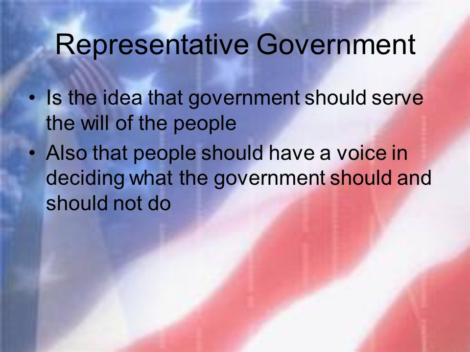 What is the idea that government should be restricted in its lawful uses of power?