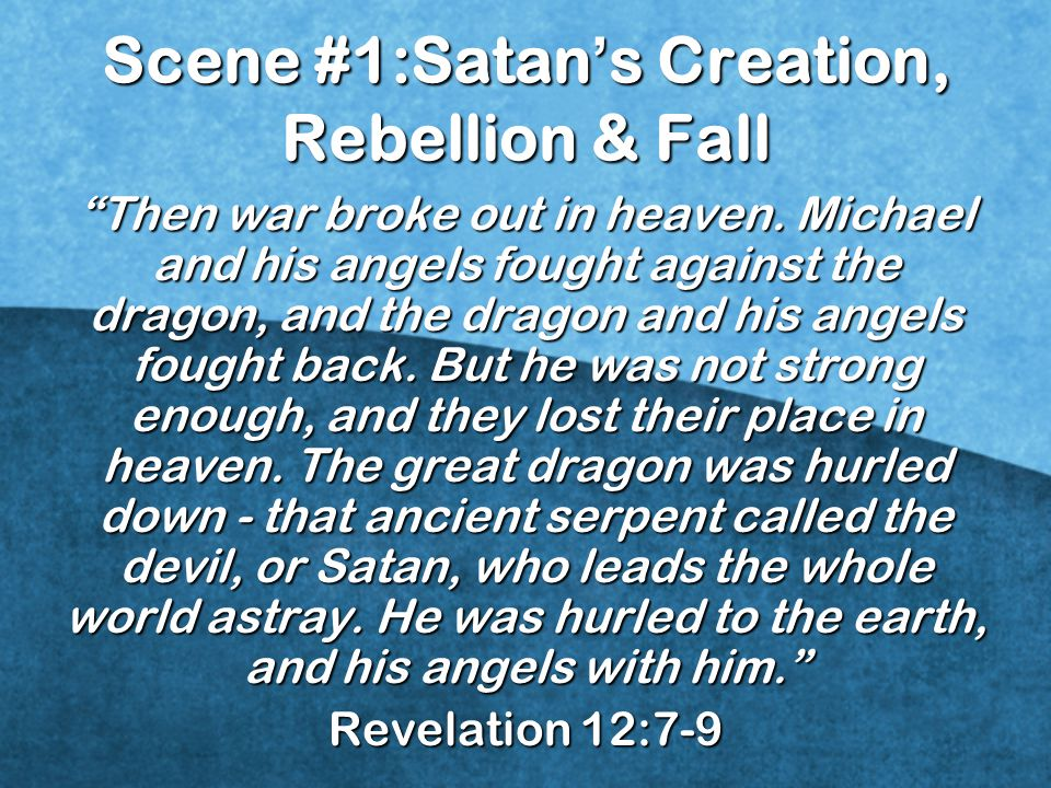 """""""Then war broke out in heaven. Michael and his angels fought against the dragon, and the dragon and his angels fought back. But he was not strong enou"""