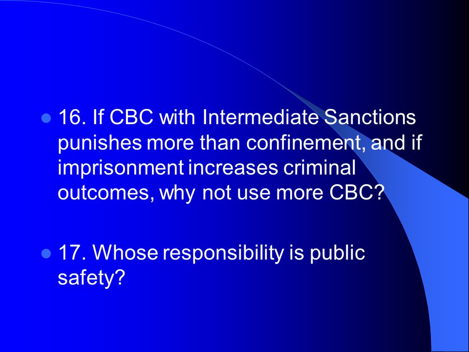 18.Why do resource allocators (Politicians) not fund CBC better.
