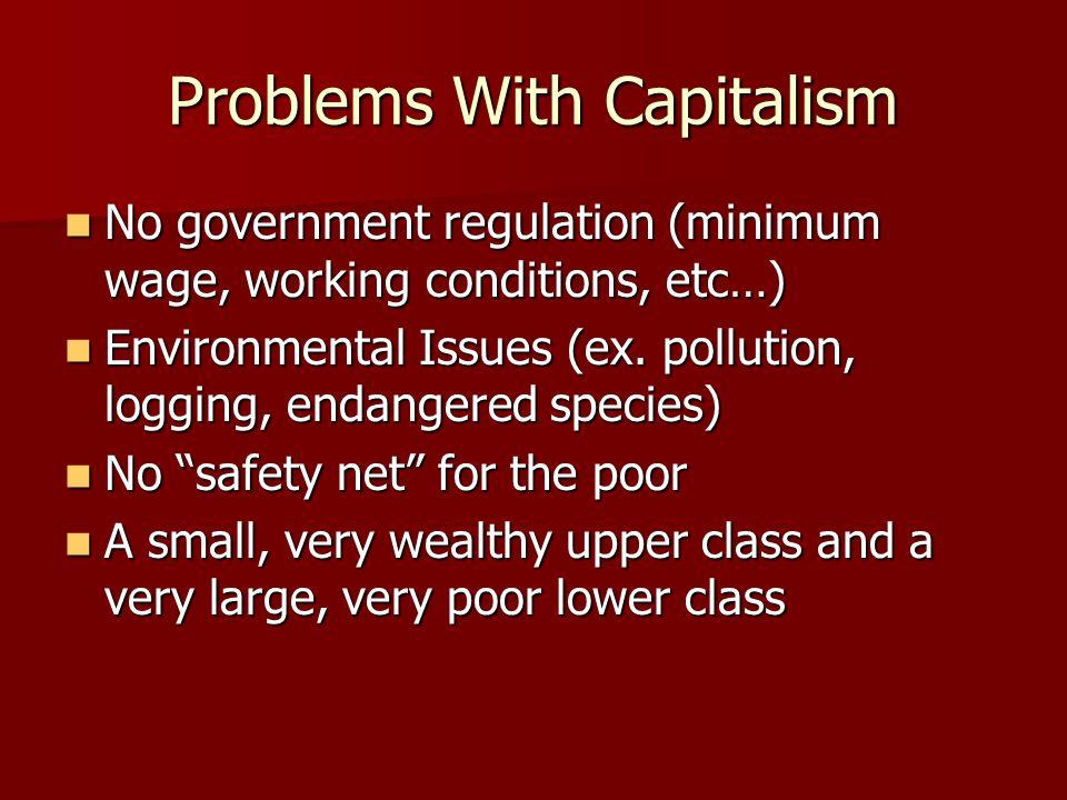 Should Government Be Big.Capitalism: No.