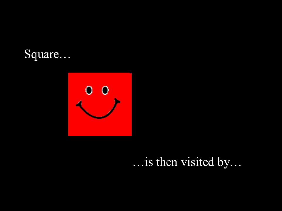 Square… …is then visited by…
