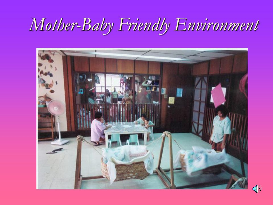Mother-Baby Friendly Environment