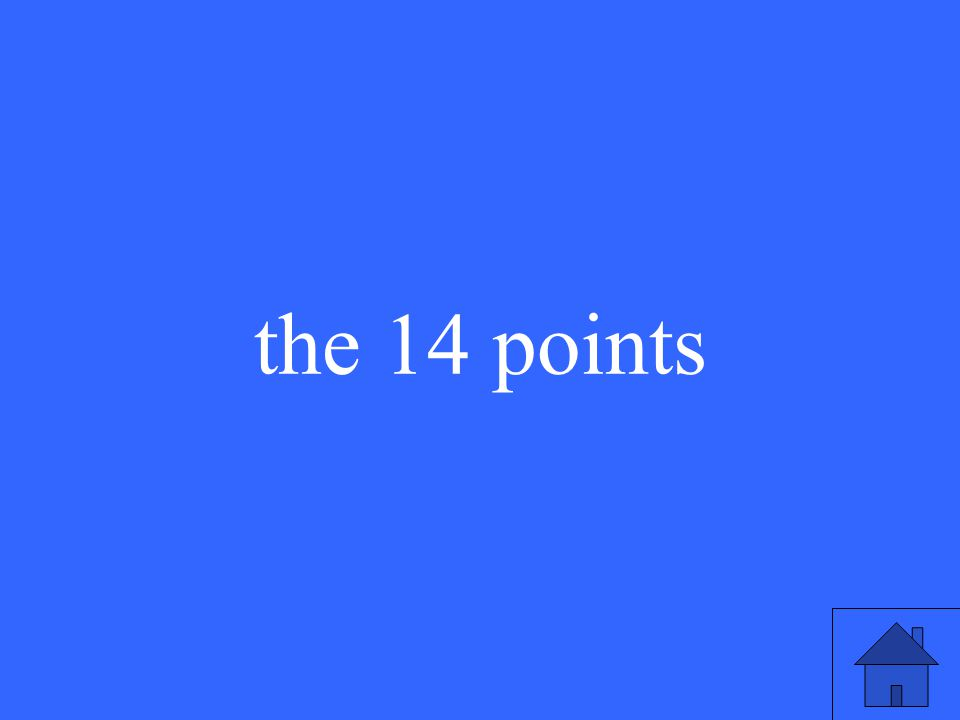 the 14 points