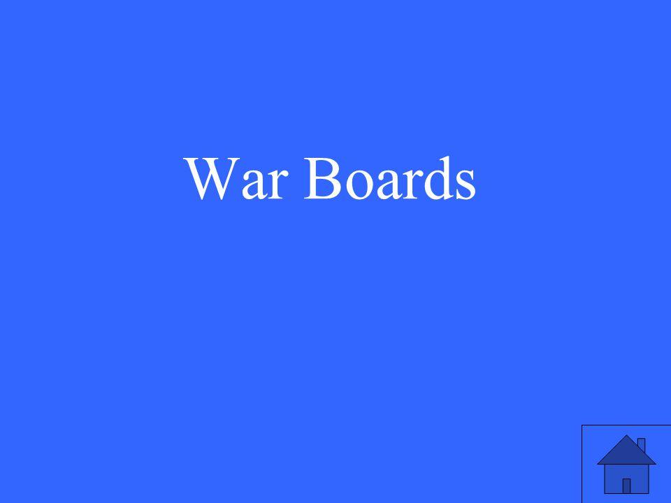 War Boards