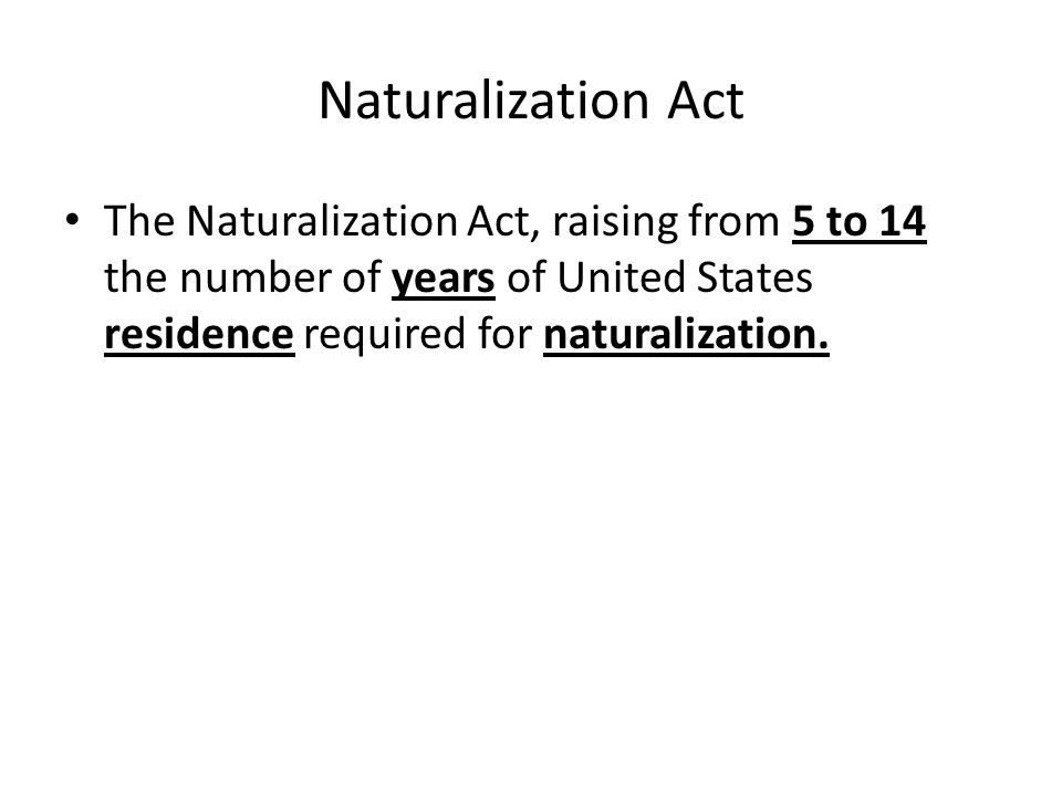 Alien Act Alien Act, 1798, four laws enacted by the Federalist-controlled U.S.