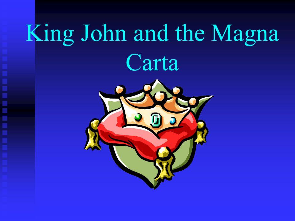 King John the Phony King of England