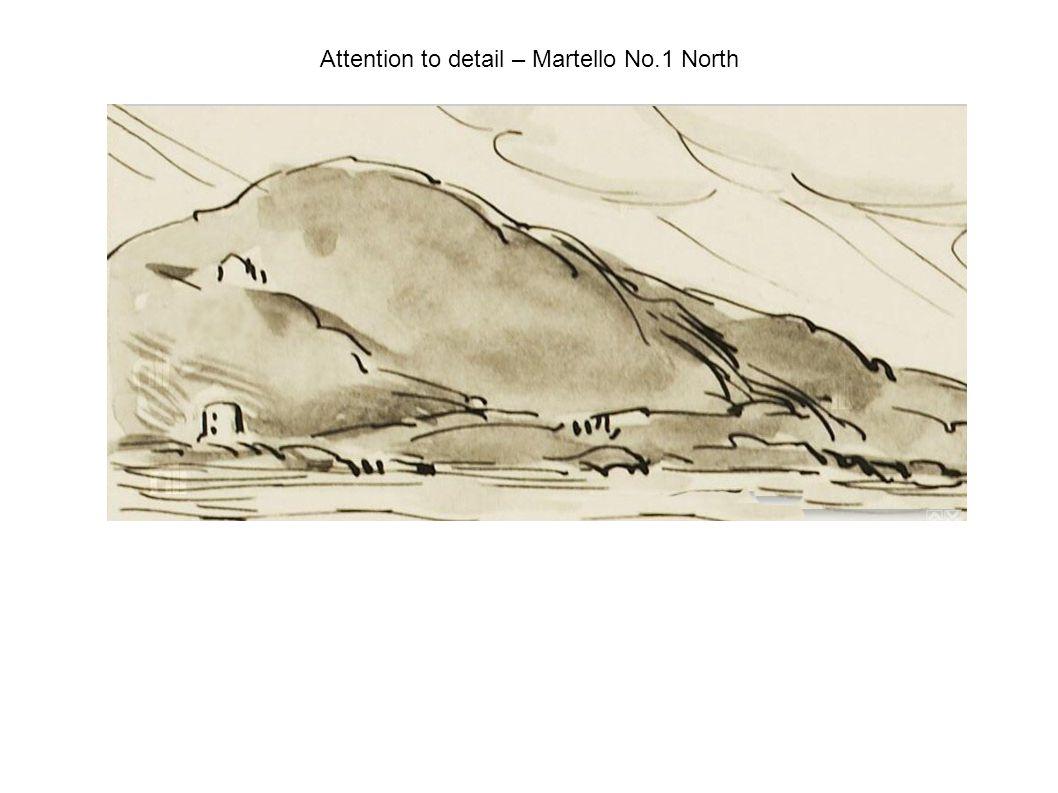 Attention to detail – Martello No.1 North