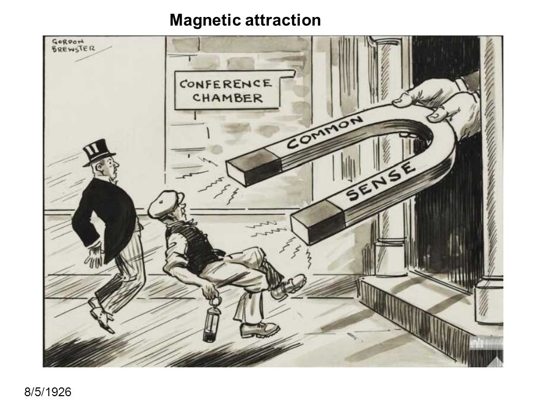 Magnetic attraction 8/5/1926