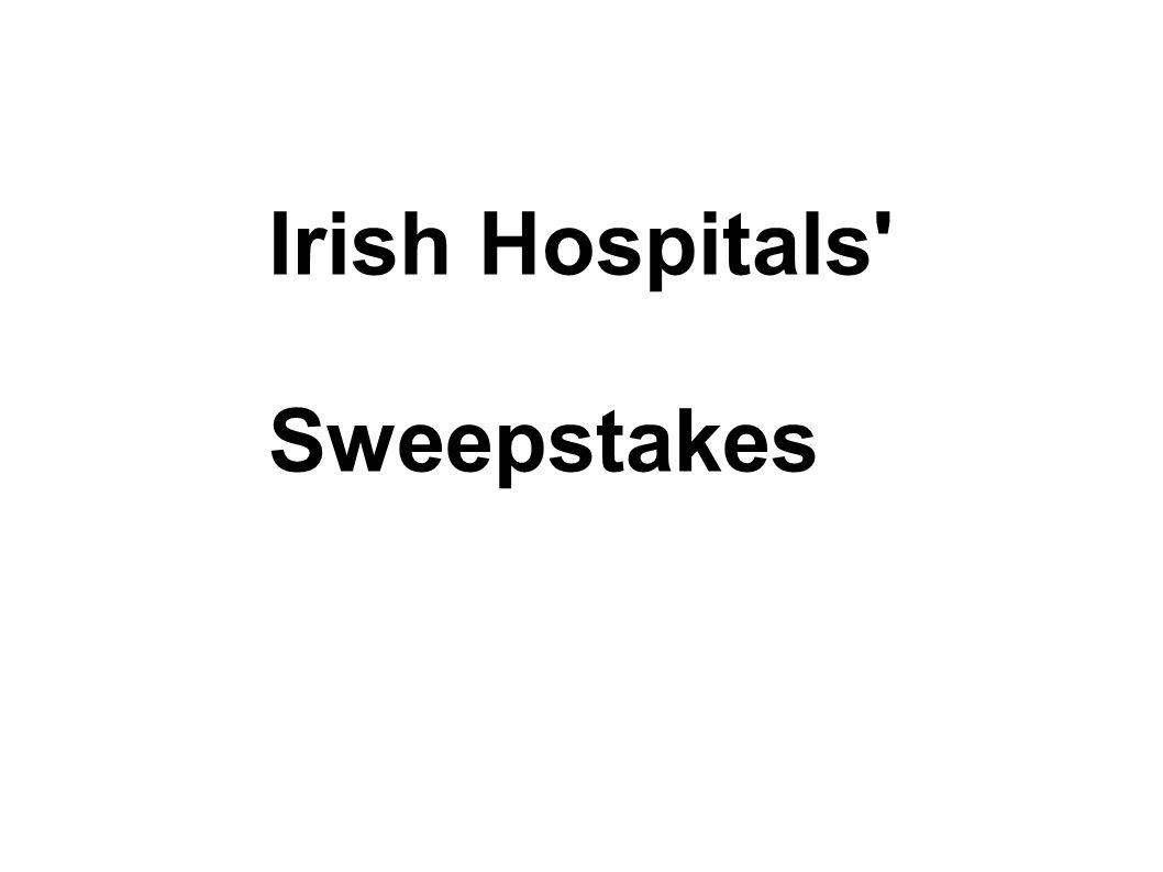 Irish Hospitals' Sweepstakes