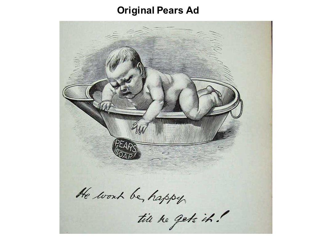 Original Pears Ad