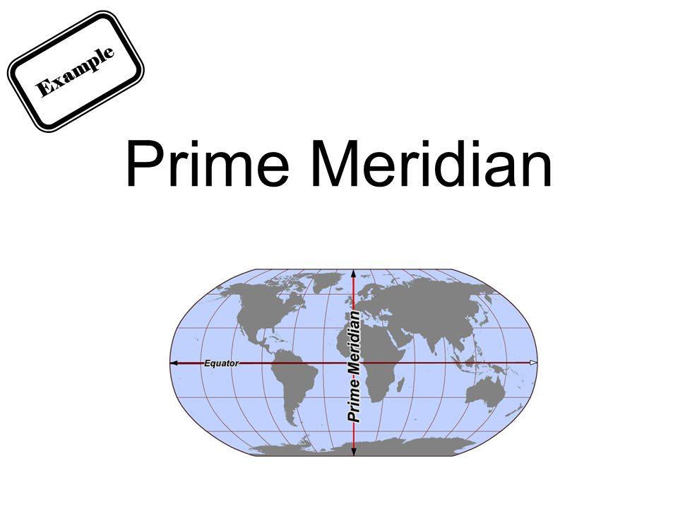 Prime Meridian Example
