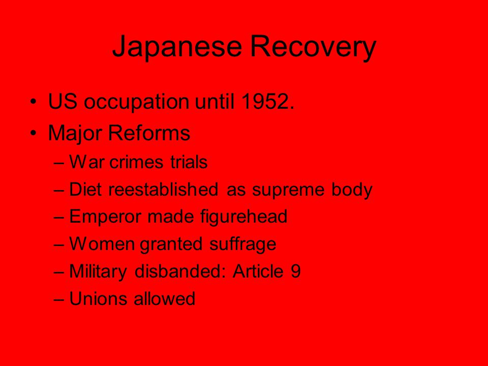 The Japanese Economic Miracle Government planning along with capitalism.