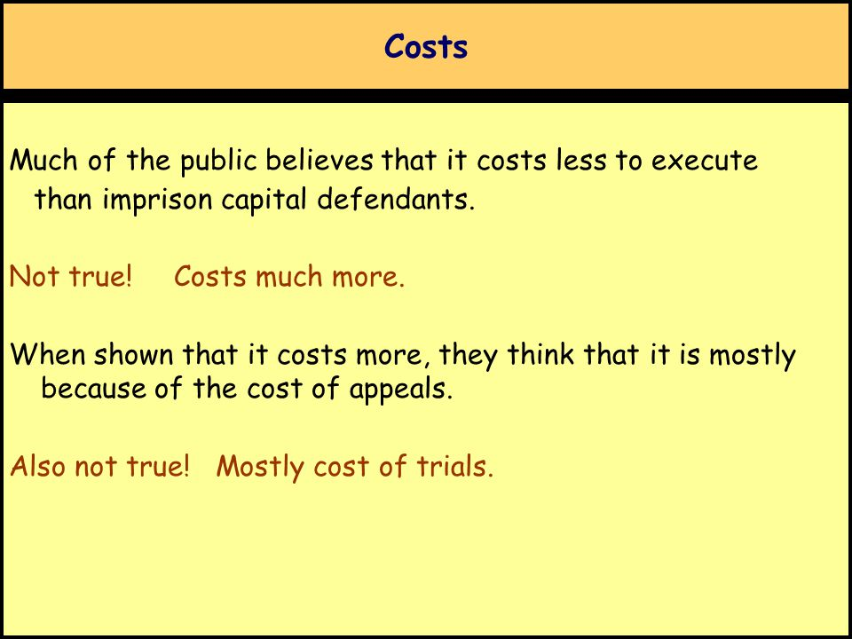 Costs Is the DP worth the extra expense.Cost-Benefit analysis often applied to public policies.