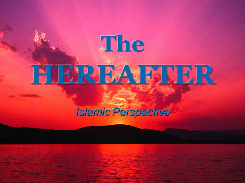 1 Islamic Perspective