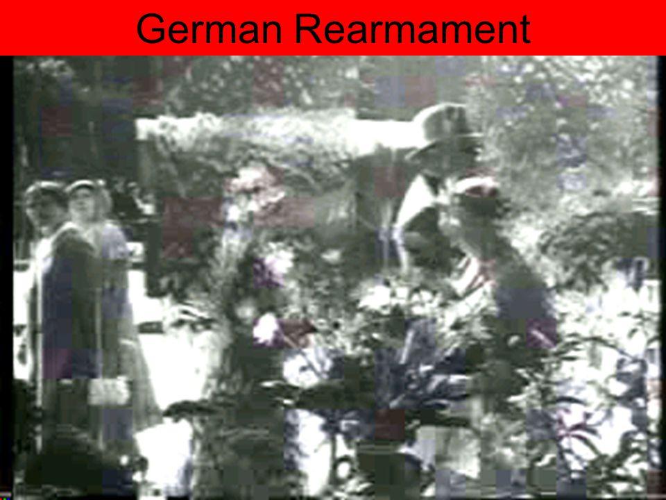 Germany's Economic Recovery German Rearmament