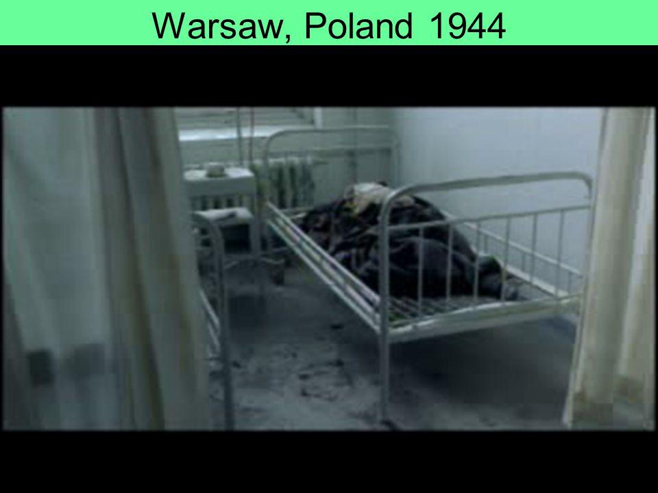 Warsaw, Poland 1944
