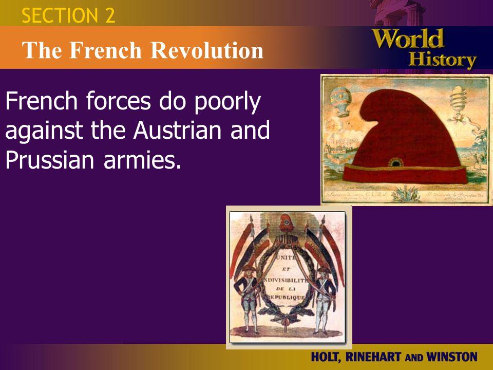 SECTION 2 The French Revolution Hotel de Ville Radicals seize control of the Commune, Paris's city gov't