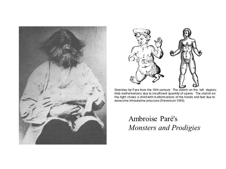 Ambroise Paré s Monsters and Prodigies