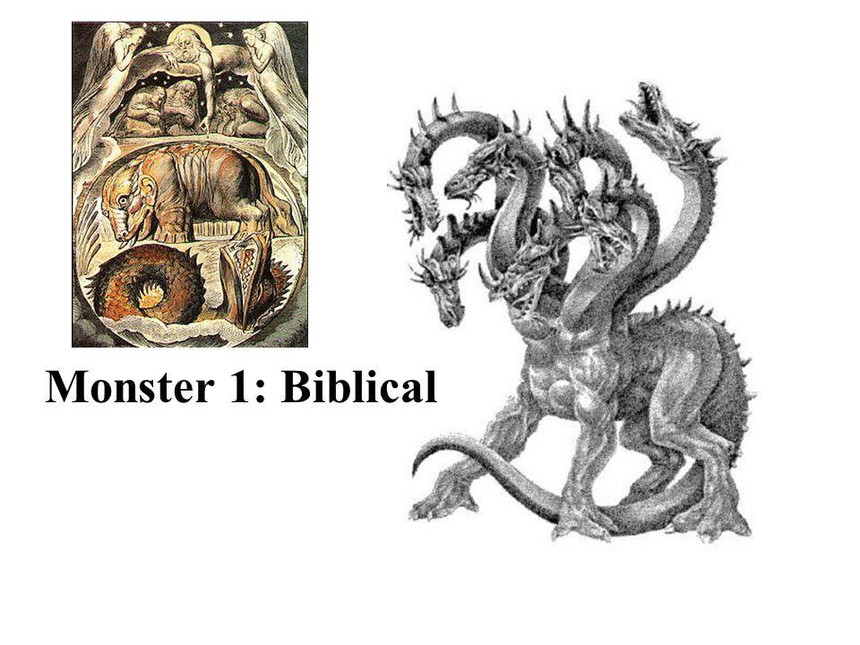 Monster 1: Biblical