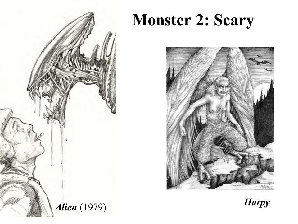 Alien (1979) Harpy Monster 2: Scary