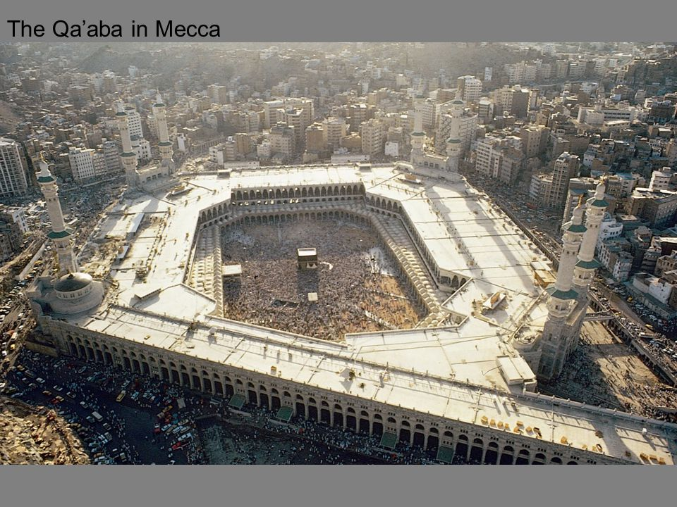 The Qa'aba in Mecca