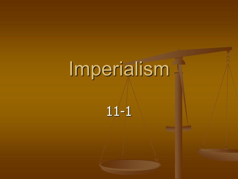 Imperialism 11-1