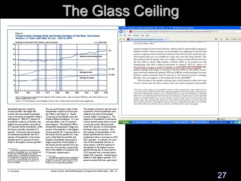 27 The Glass Ceiling