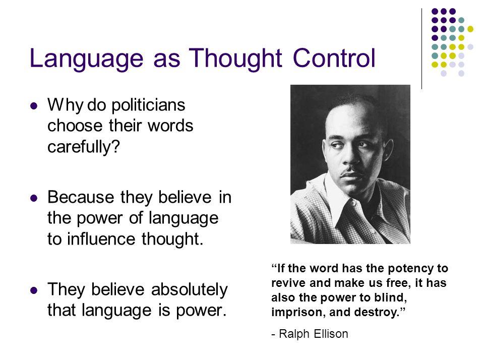 Why Language.