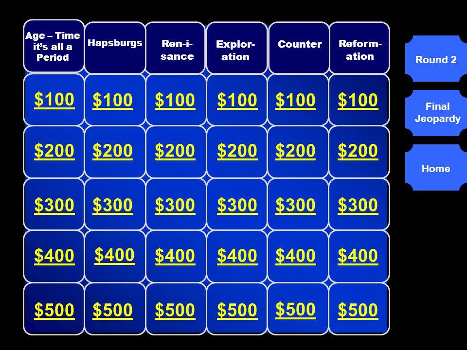 Round 1 Round 2 Final Jeopardy