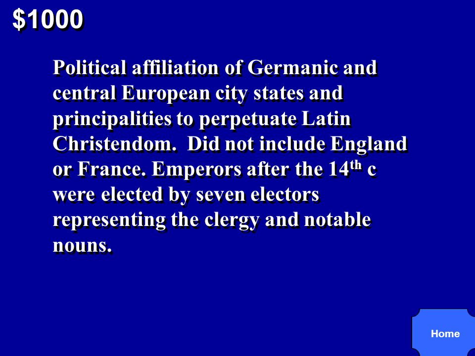 $1000 R2,5 Holy Roman Empire