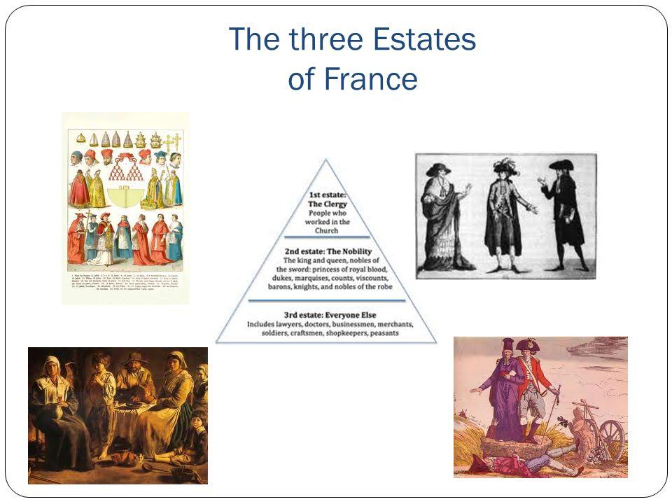 The three Estates of France