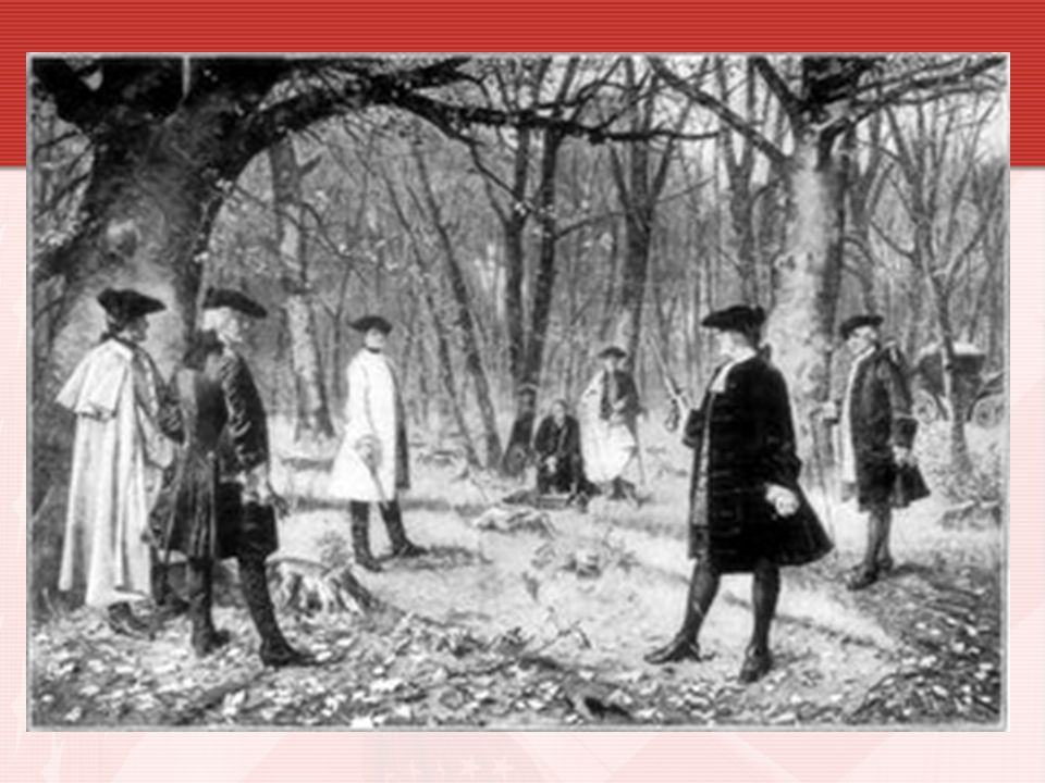 Hamilton Dies of His Wounds The two men met at dawn Hamilton s shot was fired into the air away from Burr into the air.