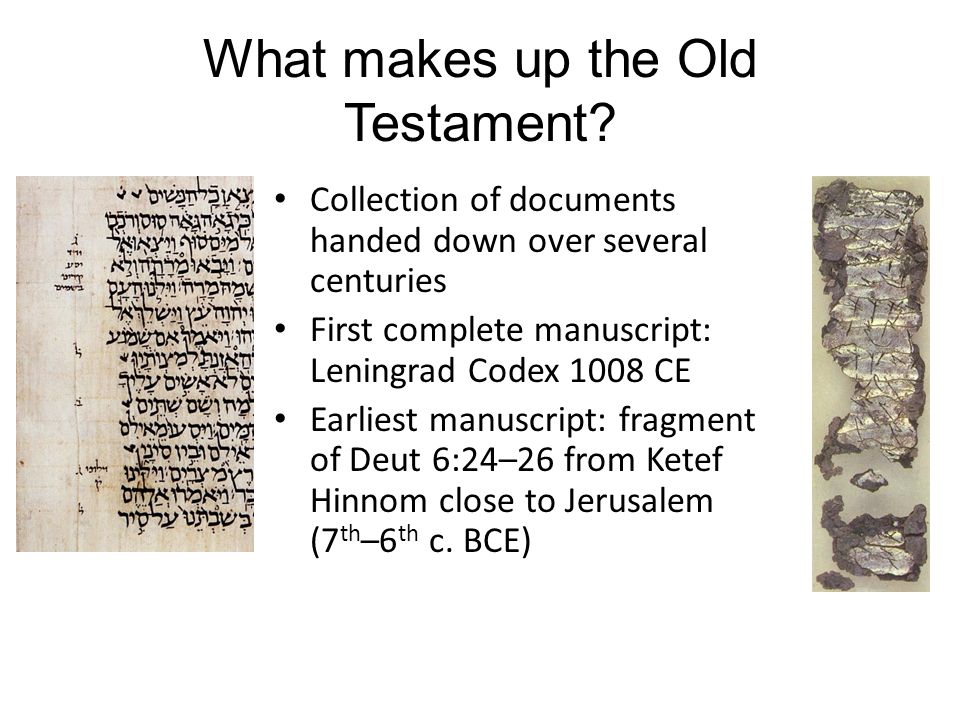As the Word of God – All scripture is inspired by God and is useful for teaching, for reproof, for correction, and for training in righteousness (2 Tim 3:16) – Like any other book (Benjamin Jowett, 1860) How do we read the Old Testament?