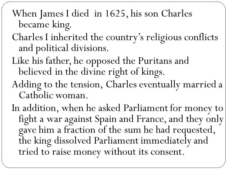 In 1641 the Irish rebelled.