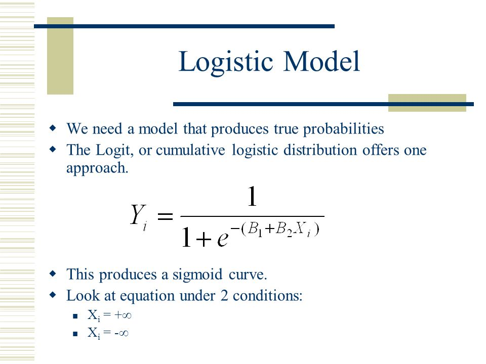 Ordered Probit  If the dependent variable can take on ordinal levels, we can extend the dichotomous Probit model to an n-chotomous, or ordered, Probit model  It simply has several threshold values estimated  Ordered logit works much the same way