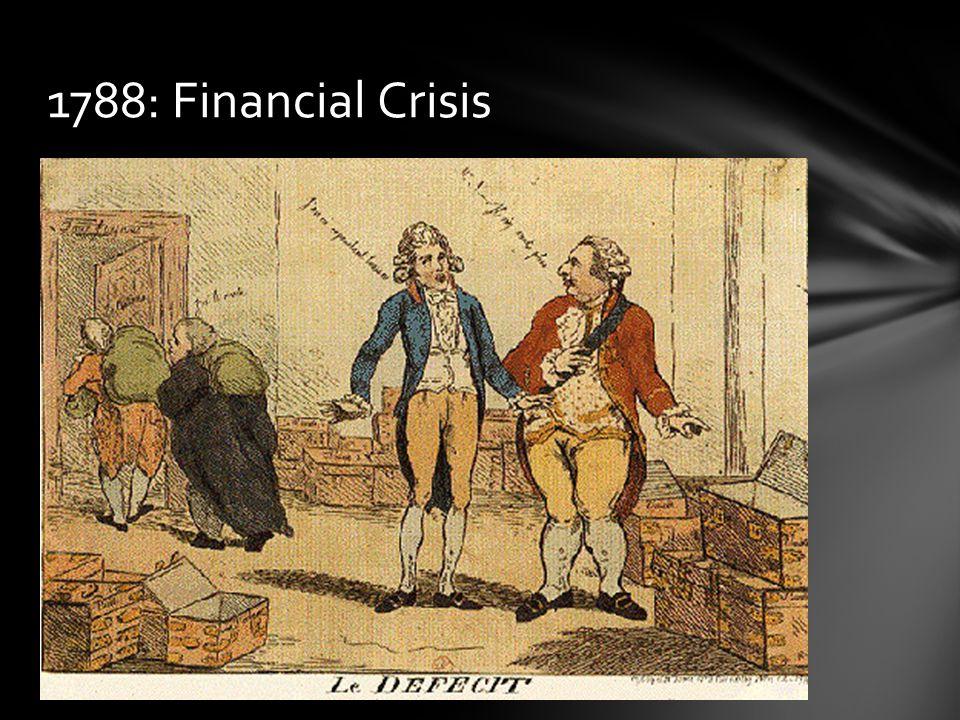 1788: Financial Crisis