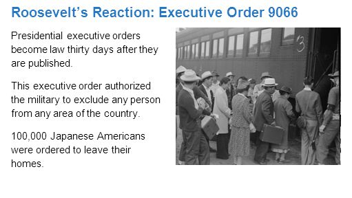Presidential executive orders become law thirty days after they are published.