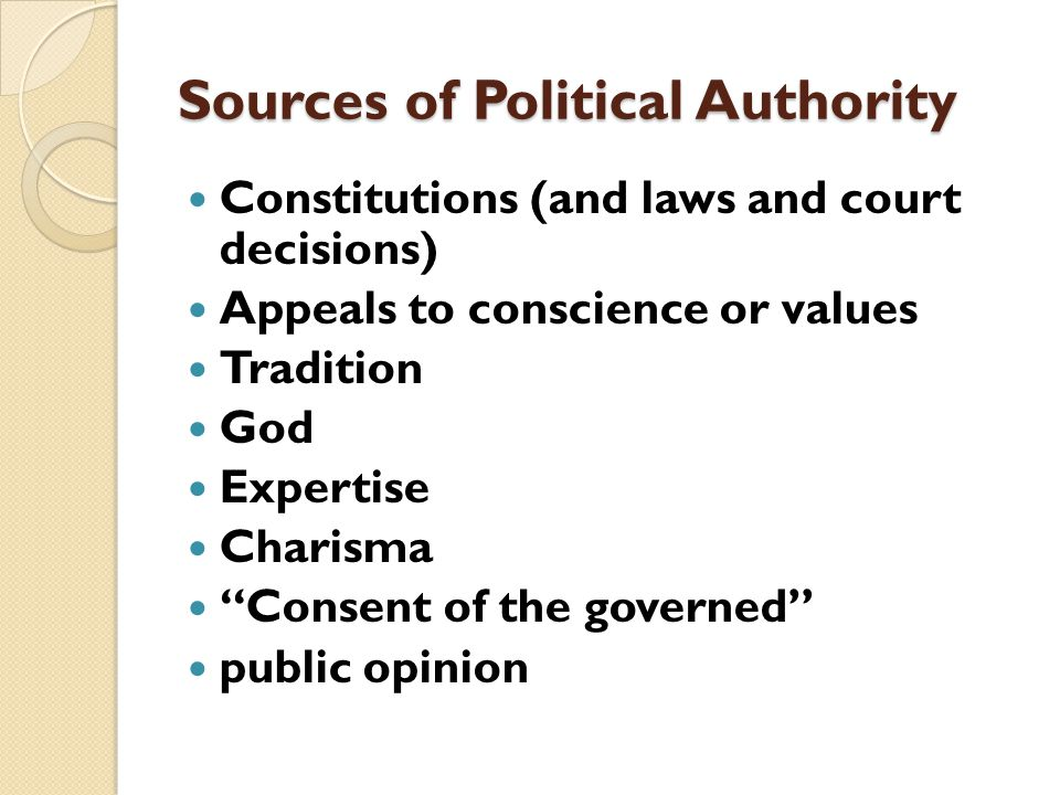 GOVERNMENT'S AUTHORITY extends to all individuals within its geographic boundaries it can be used to redefine the authority of individuals, organizati