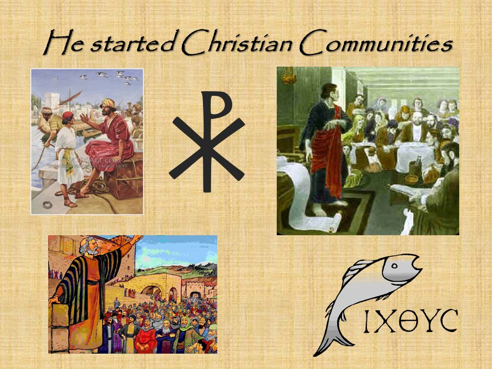 He started Christian Communities