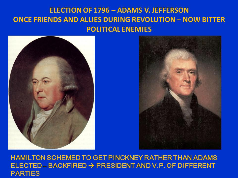 ELECTION OF 1796 – ADAMS V.