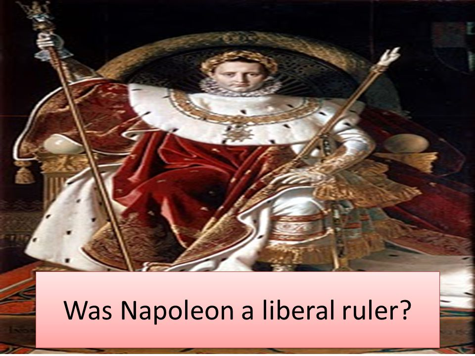 So… Aims of Lecture To identify Napoleon's domestic reforms and actions.
