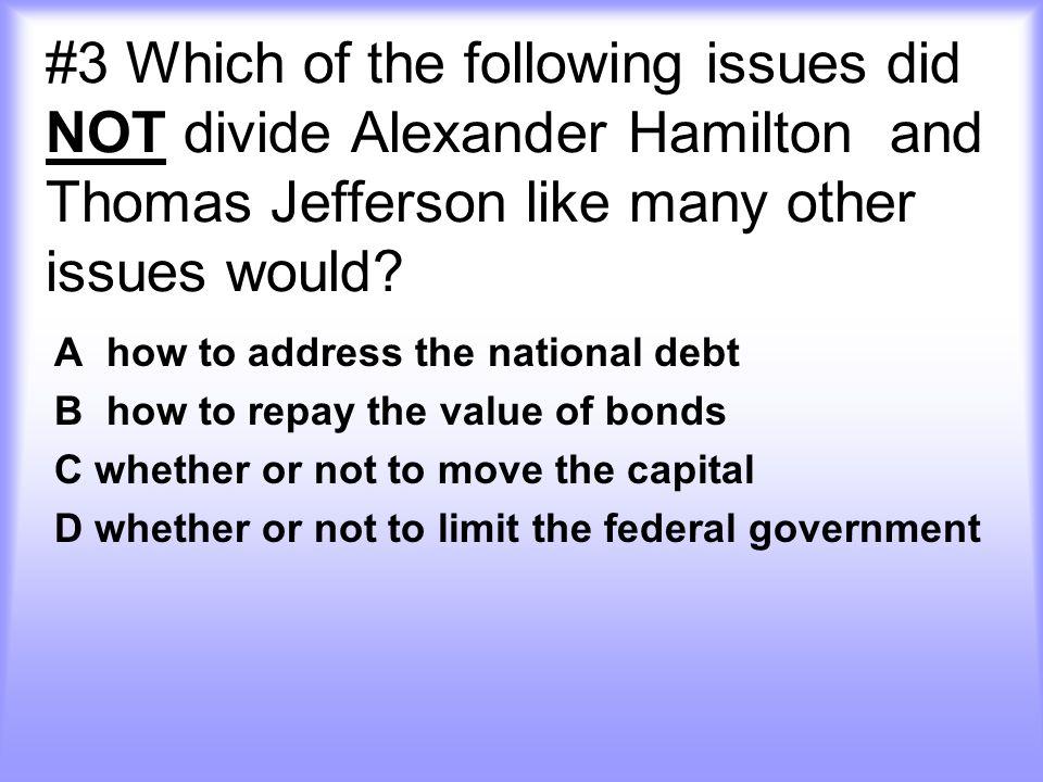 C Democrat-Republicans and Federalist