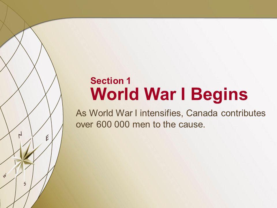 2 SECTION Battles of World War I