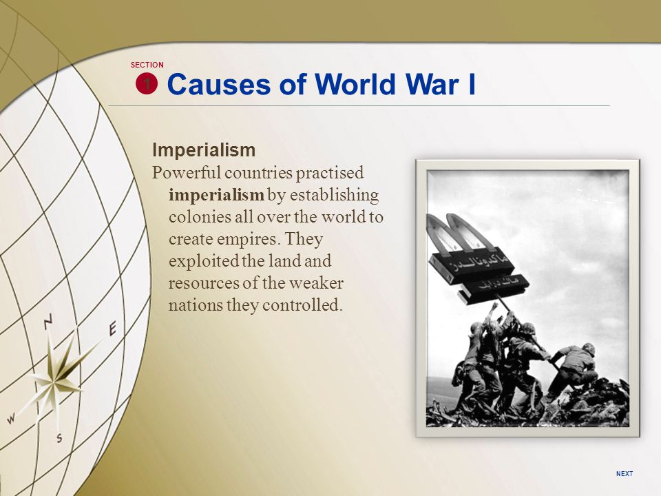 Section 3 The War at Home As World War I intensifies, Canada contributes over 600 000 men to the cause.