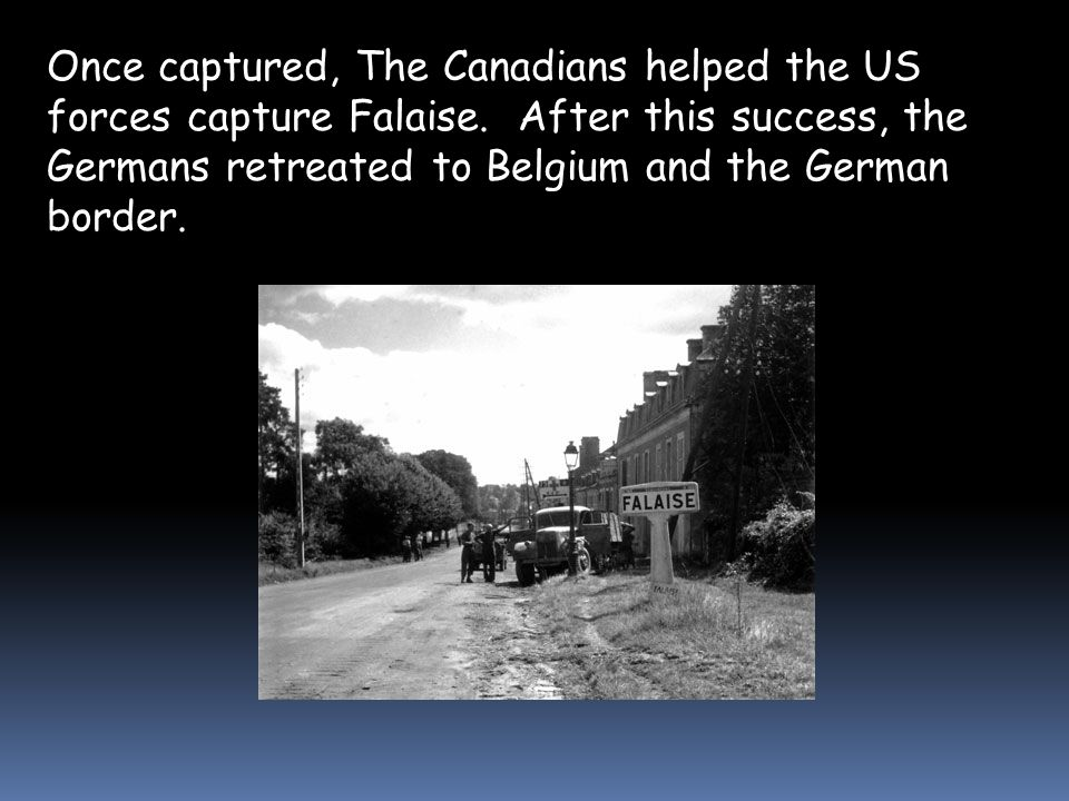 The road and rail city of Caen was the Canadians 1 st objective.