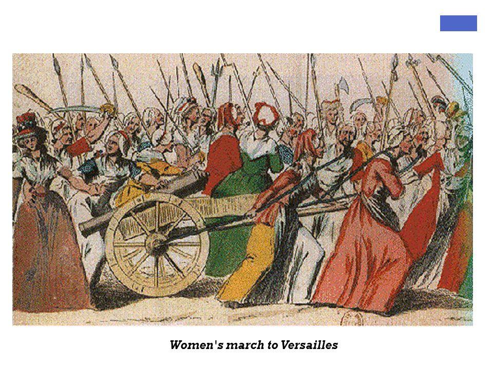 Women's march to Versailles