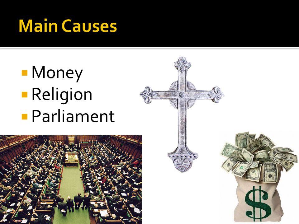  Money  Religion  Parliament