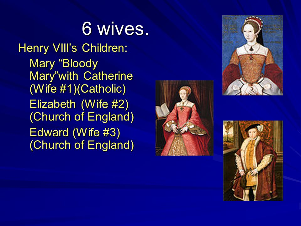 6 wives.