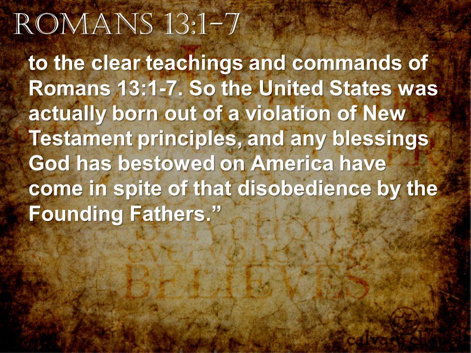 Romans 13:1-7