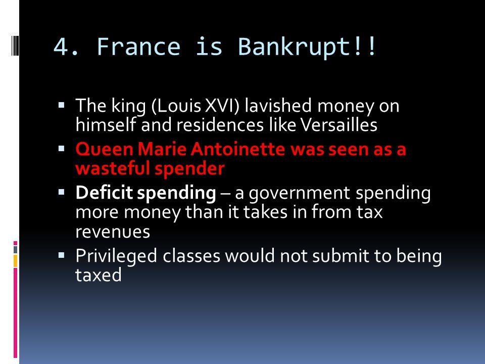 4. France is Bankrupt!.